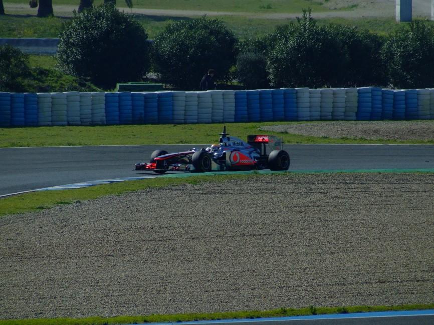 jerez f1 testing 2011