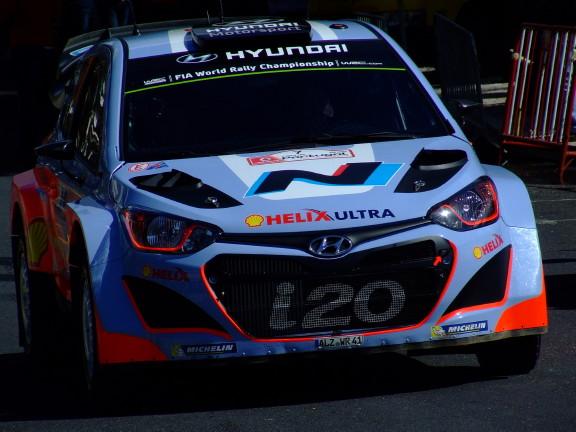 i c i20 WRC - Rally Portugal 2014