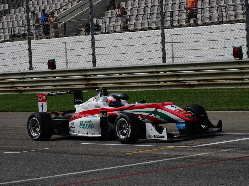 Felix Rosenqvist and Prema Powerteam
