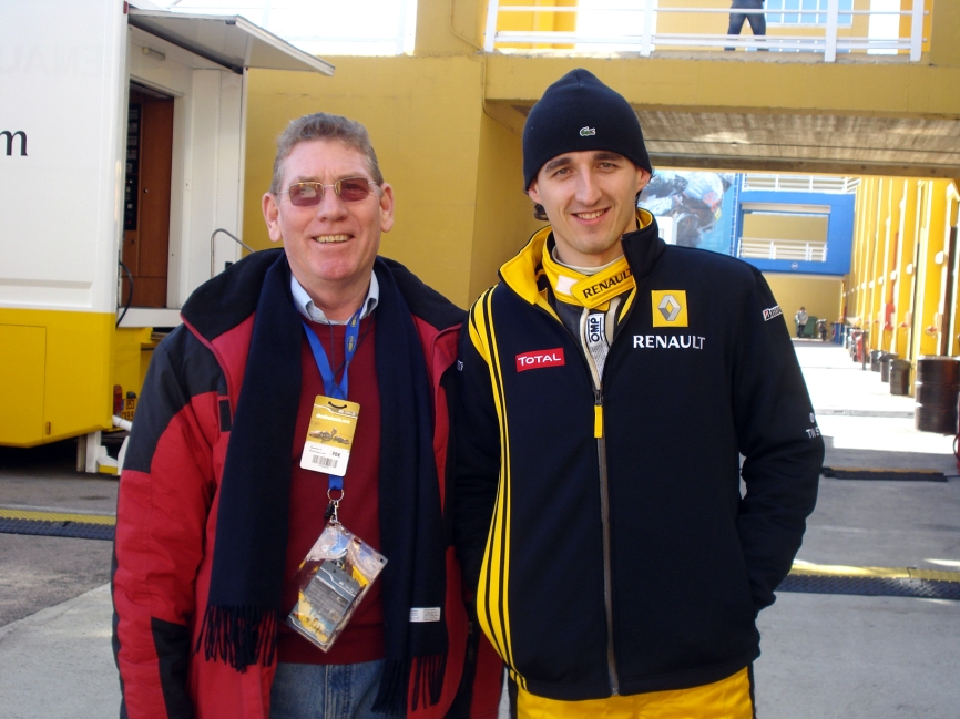 @TonyJaveaF1 with Kubica
