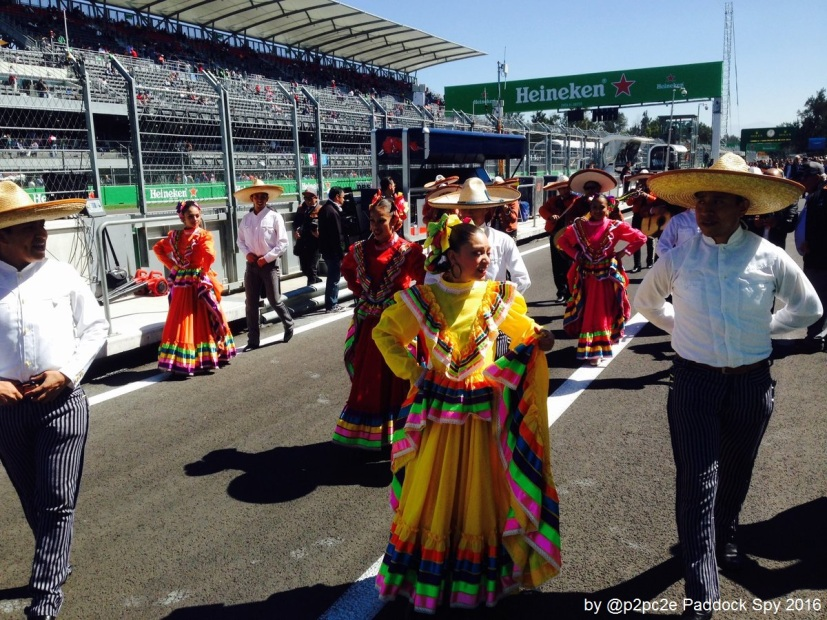 The SPY @ #MexicoGP