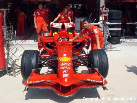 Formula 1 in Valencia, 2008