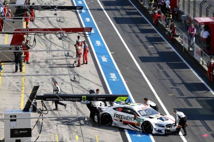 Leading the Mercedes charge in Budapest