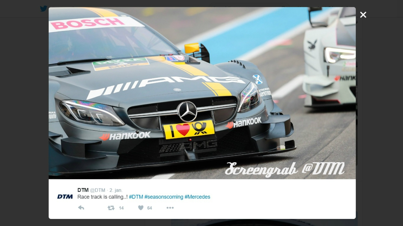 Screengrab @DTM
