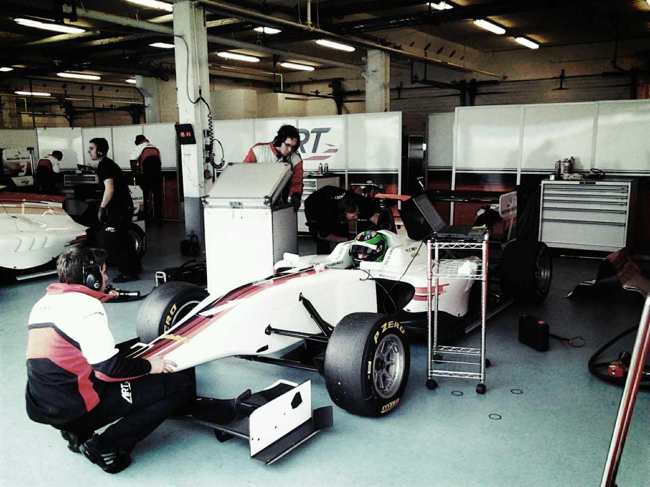 Conor in the GP3 Dallara circa 2013