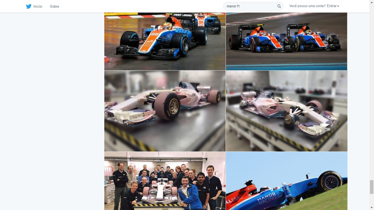 This is the End for Manor: Twitter Search for Manor F1 2017 Car