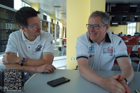 GP3 in Valencia: chatting with Didier Perrin