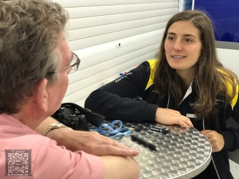 GP3 in Valencia: Tatiana says...