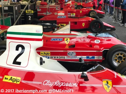 Live from #FOS with @DMErinoF1