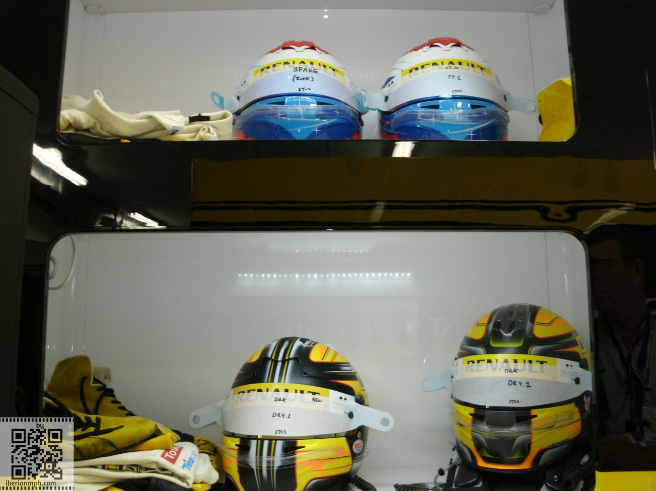 2010 with Renault F1
