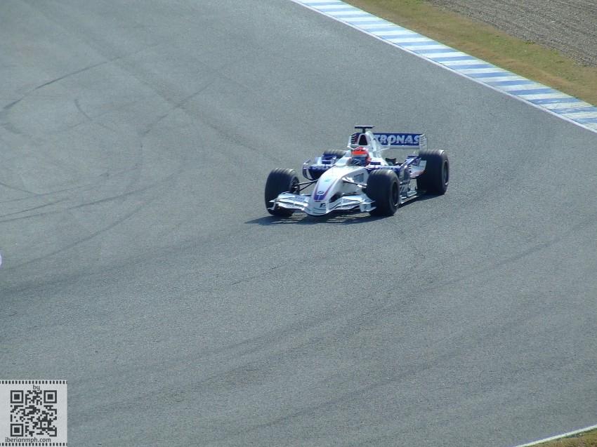 2007 BMW Sauber colours