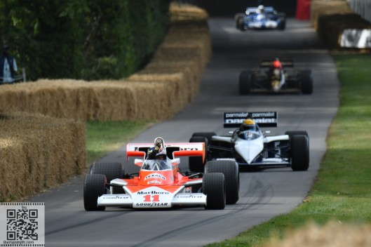 Gran fiesta en Goodwood