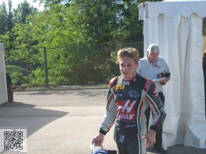 Santino Haas F2 speed
