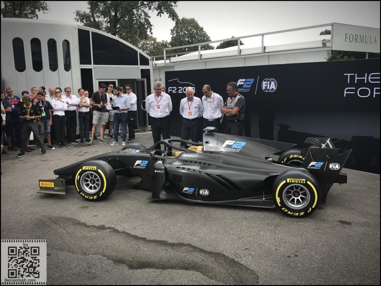 FIA F2 2018 Car Launch Monza (8)