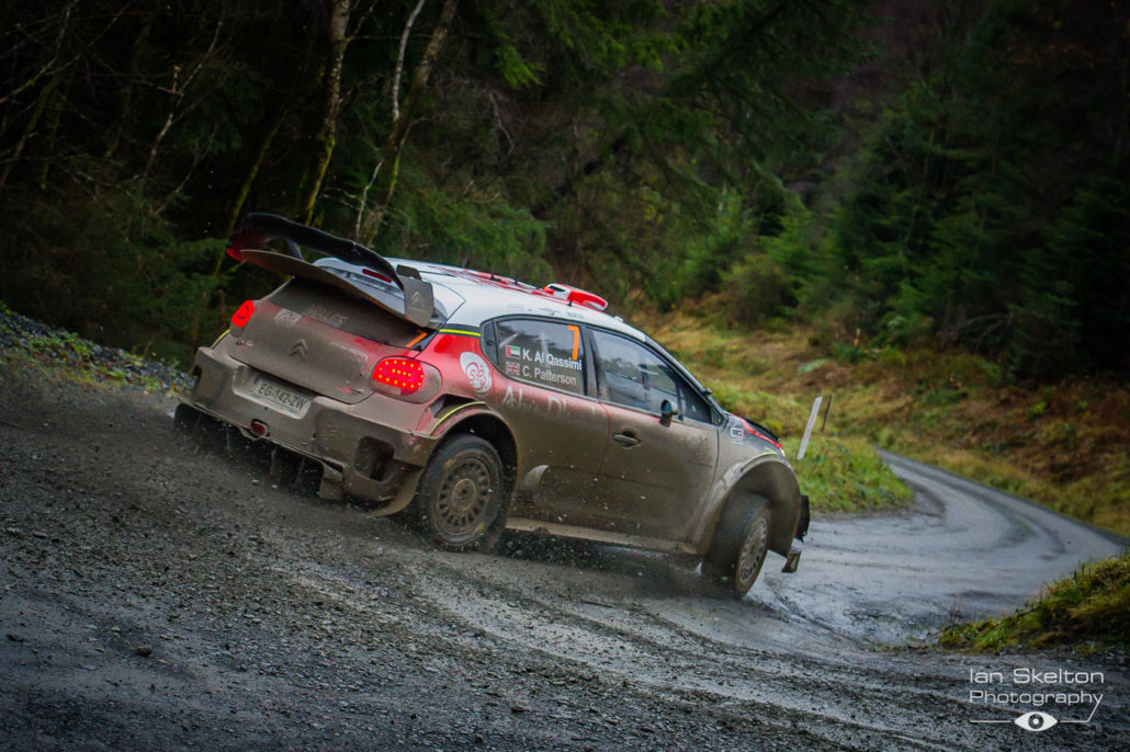 during the WRC Wales Rally GB 2017