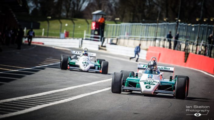 Master Historic Racing Test Day at Brands Hatch Circuit