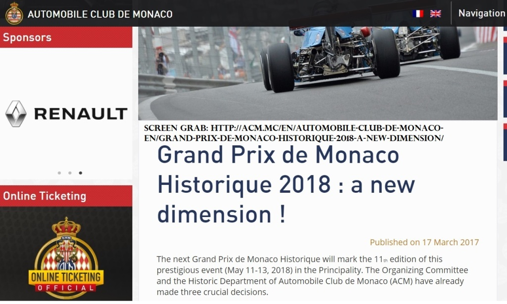 http://acm.mc/en/automobile-club-de-monaco-en/grand-prix-de-monaco-historique-2018-a-new-dimension/