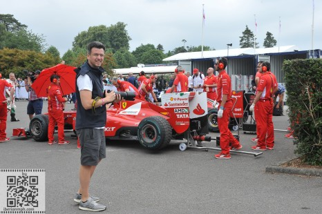 Diego at Goodwood