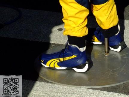 Dummy F1 life: fake Renault F1 mechanic