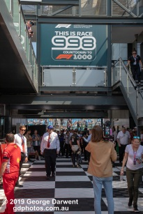 Australia marked the 998th Formula One race, with the 1000th to be held in China in April. -------------------------------------------------- Photo taken by me - GDPHOTOS.COM.AU Sunday 17 March 19 Canon EOS 6D Mark II EF24-105mm f/4L IS USM @ 50mm 1/500 sec @ f10 1000 ISO Please credit if sharing -------------------------------------------------