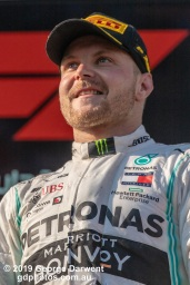 Valtteri Bottas (#77) of the Mercedes Formula 1 team on the podium of the 2019 Australian Grand Prix weekend. -------------------------------------------------- Photo taken by me - GDPHOTOS.COM.AU Sunday 17 March 19 Canon EOS 6D Mark II EF100-400mm f/4.5-5.6L IS II USM +1.4x III @ 476mm 1/2500 sec @ f10 1000 ISO Please credit if sharing -------------------------------------------------