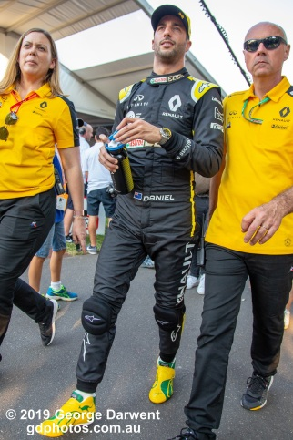 Daniel Ricciardo (#3) of the Renault Formula 1 team in the paddock on Saturday of the 2019 Australian Grand Prix weekend. -------------------------------------------------- Photo taken by me - GDPHOTOS.COM.AU Saturday 16 March 19 Canon EOS 6D Mark II EF24-105mm f/4L IS USM @ 24mm 1/500 sec @ f4 1000 ISO Please credit if sharing -------------------------------------------------