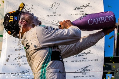 Valtteri Bottas (#77) of the Mercedes Formula 1 team on the podium of the 2019 Australian Grand Prix weekend. -------------------------------------------------- Photo taken by me - GDPHOTOS.COM.AU Sunday 17 March 19 Canon EOS 6D Mark II EF100-400mm f/4.5-5.6L IS II USM +1.4x III @ 140mm 1/1250 sec @ f14 1000 ISO Please credit if sharing -------------------------------------------------