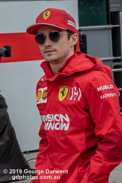 Charles Leclerc (#16) of the Ferrari Formula 1 team in the paddock on Sunday of the 2019 Chinese Grand Prix weekend. -------------------------------------------------- Photo taken by me - GDPHOTOS.COM.AU Sunday 14 April 19 Canon EOS 6D Mark II EF24-105mm f/4L IS USM @ 105mm 1/500 sec @ f14 800 ISO Please credit if sharing -------------------------------------------------