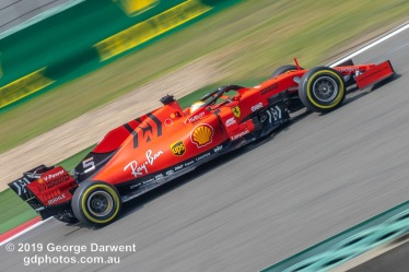 Sebastian Vettel (#5) of the Ferrari Formula 1 team out on track during the 2019 Chinese Grand Prix weekend. -------------------------------------------------- Photo taken by me - GDPHOTOS.COM.AU Friday 12 April 19 Canon EOS 6D Mark II EF100-400mm f/4.5-5.6L IS II USM +1.4x III @ 379mm 1/80 sec @ f32 500 ISO Please credit if sharing -------------------------------------------------