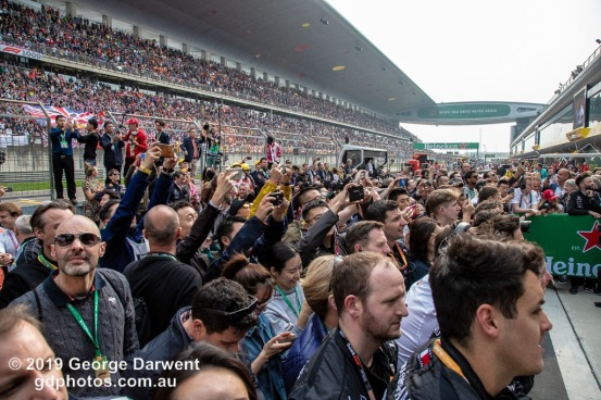 Podium crowds in China -------------------------------------------------- Photo taken by me - GDPHOTOS.COM.AU Sunday 14 April 19 Canon EOS 6D Mark II EF24-105mm f/4L IS USM @ 24mm 1/640 sec @ f7 800 ISO Please credit if sharing -------------------------------------------------