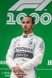 Lewis Hamilton (#44) of the Mercedes Formula 1 team celebrating on the podium of the 2019 Chinese Grand Prix. -------------------------------------------------- Photo taken by me - GDPHOTOS.COM.AU Sunday 14 April 19 Canon EOS 6D Mark II EF100-400mm f/4.5-5.6L IS II USM +1.4x III @ 560mm 1/1000 sec @ f8 1250 ISO Please credit if sharing -------------------------------------------------