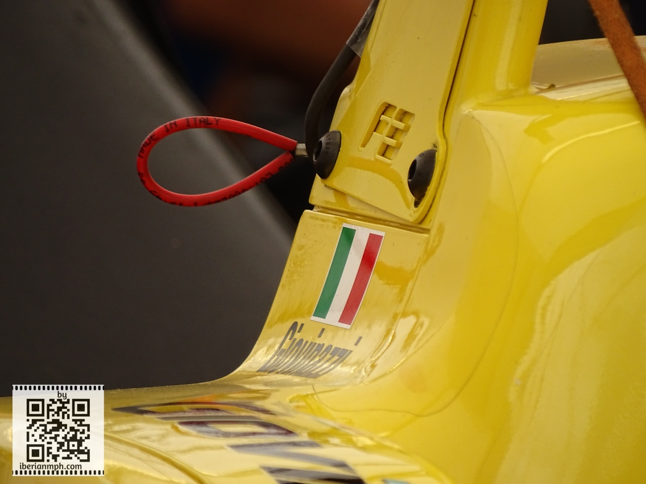 """F3 to F1 - Check out """"Made in Italy"""" sticker! How cool is that on Giovinazzi's car!"""