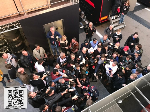 #F1 Testing in Barcelona with Diego Merino and Clarksport#F1 Testing in Barcelona with Diego Merino and Clarksport