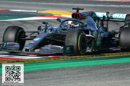 #F1 Testing in Barcelona with Diego Merino and Clarksport