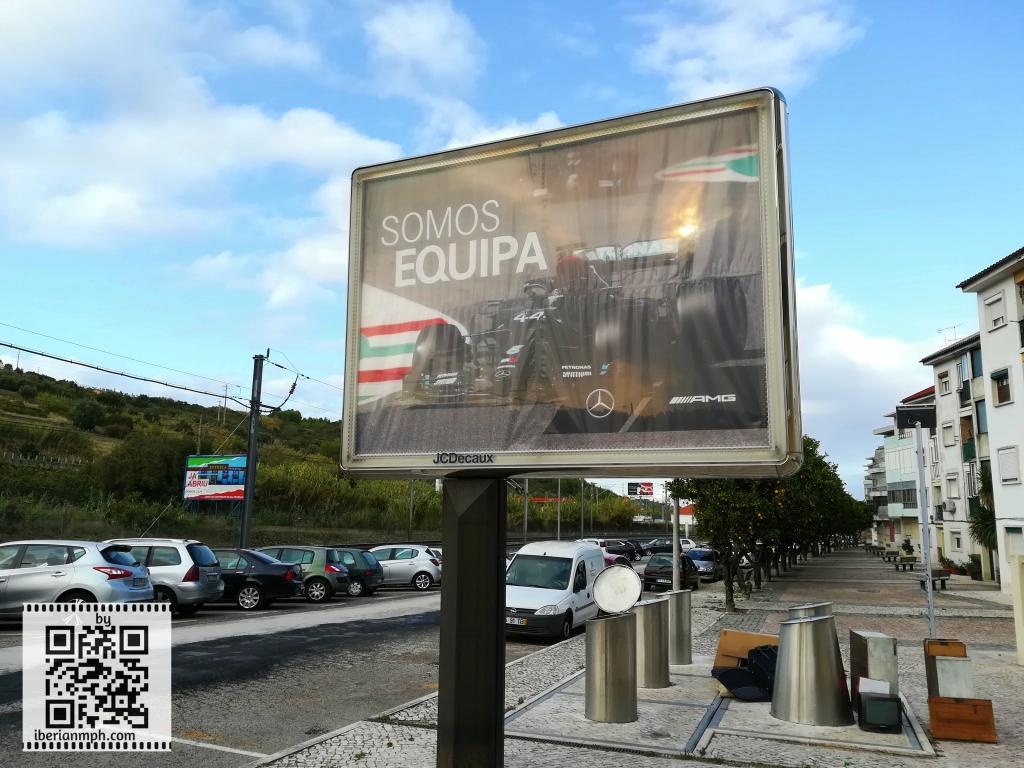 Mystery billboard