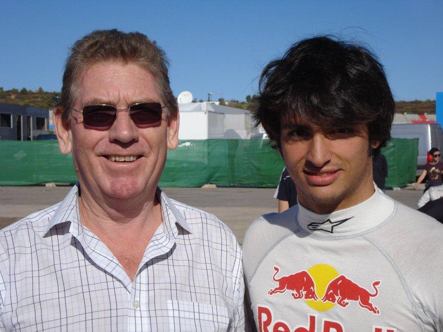 @TonyJaveaF1 with Sainza Jr